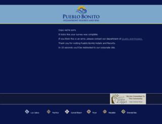 survey.pueblobonito.com.mx screenshot