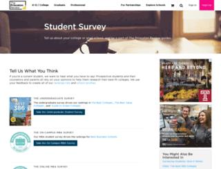 survey.review.com screenshot