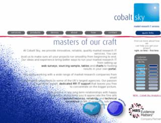 survey2.cobalt-sky.com screenshot
