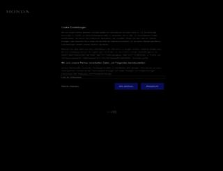 survey2016.honda.de screenshot