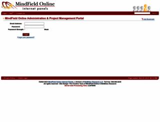 survey6.mindfieldonline.com screenshot