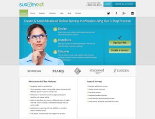 surveyact.com screenshot