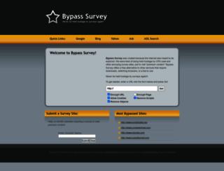 surveybypass.com screenshot