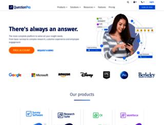 surveyconsole.com screenshot