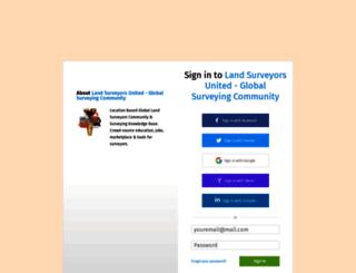 surveyearth.ning.com screenshot
