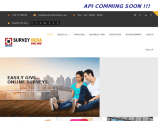 surveyindiaonline.com screenshot