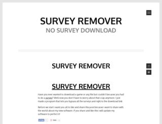 surveyremovers.wordpress.com screenshot