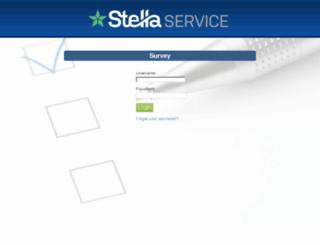 surveys.stellaservice.com screenshot