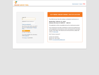 surveys.ymcaexchange.org screenshot