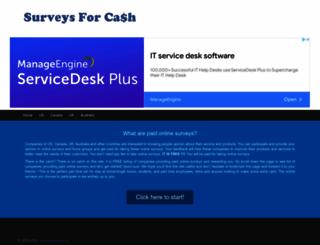 surveys4cash.com screenshot