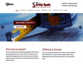 surveyspain.com screenshot