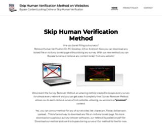 surveysremover.com screenshot