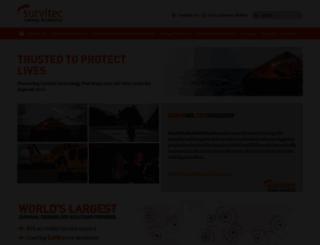 survitecgroup.com screenshot