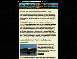 survival.org.au screenshot