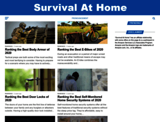 survivalathome.com screenshot