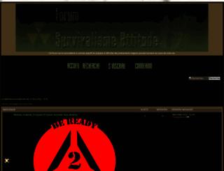 survivalisme-attitude.com screenshot