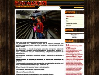 survivalistas.ucoz.es screenshot