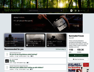 survivalistboards.com screenshot