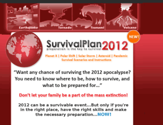 survivalplan2012.com screenshot