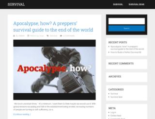 survivalpro.net screenshot