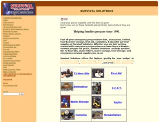 survivalsolutions.com screenshot