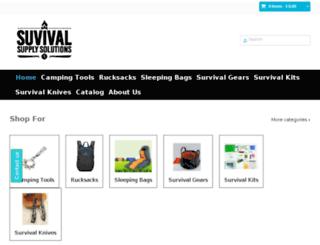 survivalsupplysolutions.com screenshot