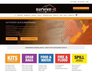 survive-it.co.nz screenshot