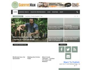 surviveman.com screenshot