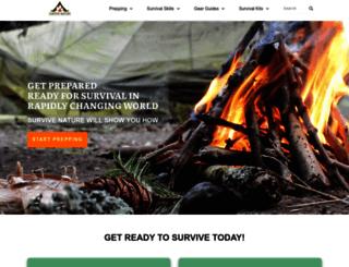 survivenature.com screenshot