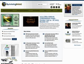 survivingmold.com screenshot