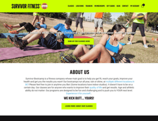 survivorbootcamp.com screenshot