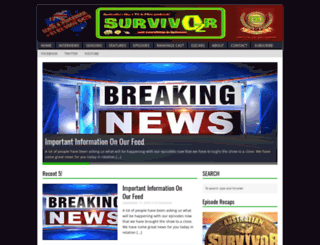 survivoroz.wordpress.com screenshot