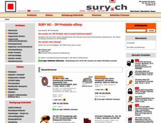 sury.ch screenshot