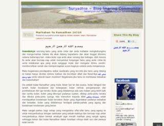 suryadhie.wordpress.com screenshot