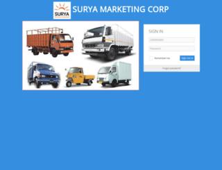 suryamarketingcorp.com screenshot