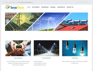 suryapower.co.za screenshot