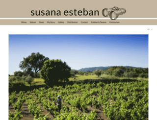 susanaesteban.com screenshot