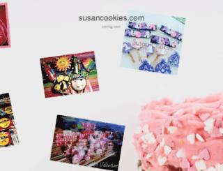 susancookies.com screenshot