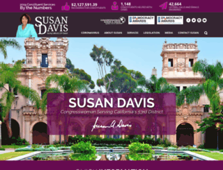 susandavis.house.gov screenshot