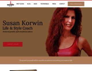 susankorwin.net screenshot