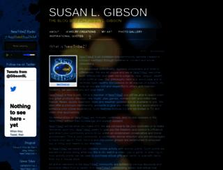 susanlgibson.com screenshot