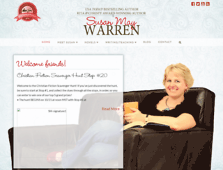 susanmaywarren.com screenshot