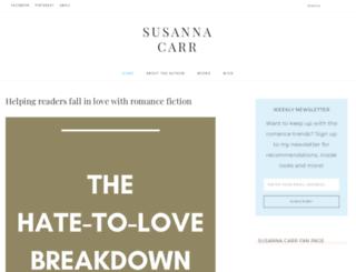 susannacarr.com screenshot