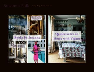 susannasalk.com screenshot