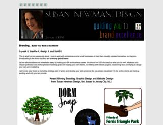 susannewmandesign.com screenshot