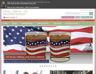 susansgifts.scent-team.com screenshot