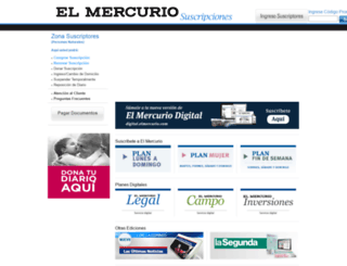 suscripciones.elmercurio.com screenshot
