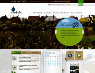 susdrain.org screenshot