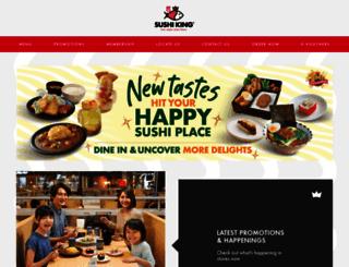 sushi-king.com screenshot