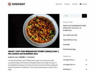 sushiday.com screenshot